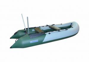 Лодка ПВХ Волга M 330 V Sport надувная под мотор