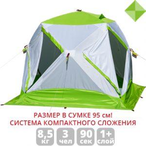 Фото Зимняя палатка Лотос Куб 3 Компакт